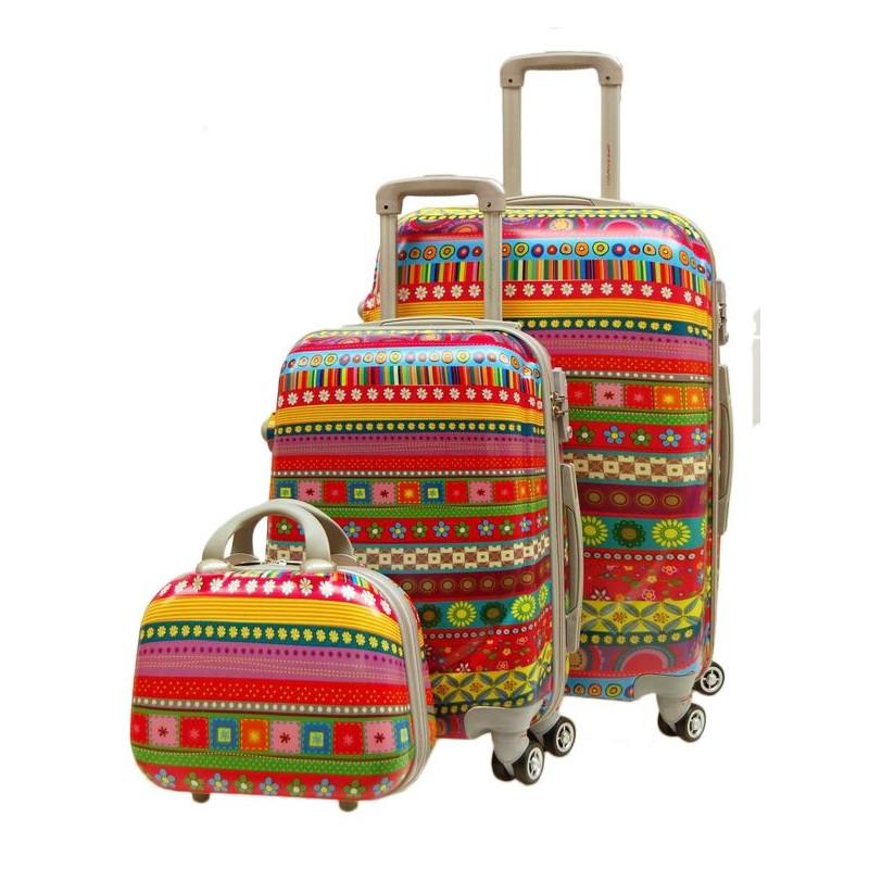 Juego de dos maletas Mumbai spinner 4...